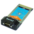 PCMCIA to RS232 RS-232 Notebook Serial I/O PC Card