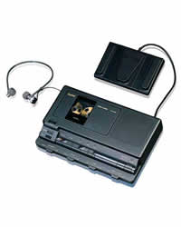 sanyo transcriber machine