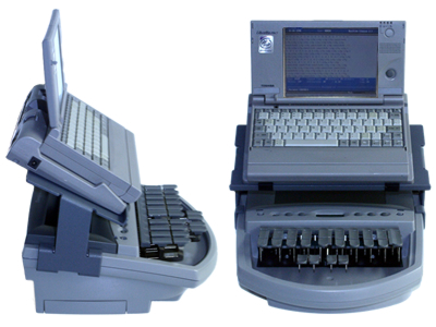 Miniature Toshiba w/élan Mira® machine