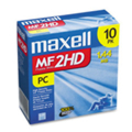 Maxell 3.5 Diskettes DS/HD 10/Pack