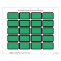 Laser Exhibits-U-Create Labels, Green - 240 per pack