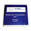 Realtime Court Reporting Theory CDs (58 Lessons & 8 CD Set)