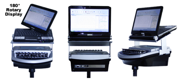 Steno Tablet Rotary Display