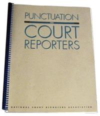 Punctuation for Court Reporters Book