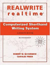 Realwrite/Realtime Computerised Shorthand Writing System: Lesson Book