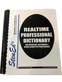 StenEd Realtime Professional Dictionary for Reporting, Captioning & Other Stenotype Professions