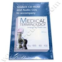 Student CD-ROM and Audio CDs To Accompany Medical Terminology Language For Health Care