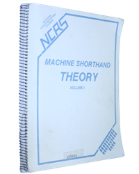 Machine Shorthand Theory Volume I