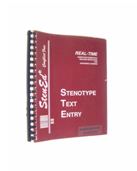 Stenotype Text Entry