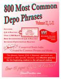 800 Most Common Depo Phrases - Book 2