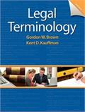 Legal Terminology - Sixth Edition