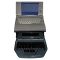 Miniature toshiba package for older court reporting software