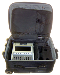 Wheelie Case for Steno Machines