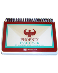 Phoenix Fast Track to Machine Shorthand Speed
