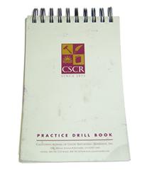 California School of Court Reporting Practice Drill Book