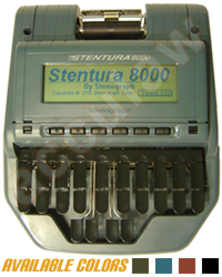 Stentura 8000® Court Reporting Package